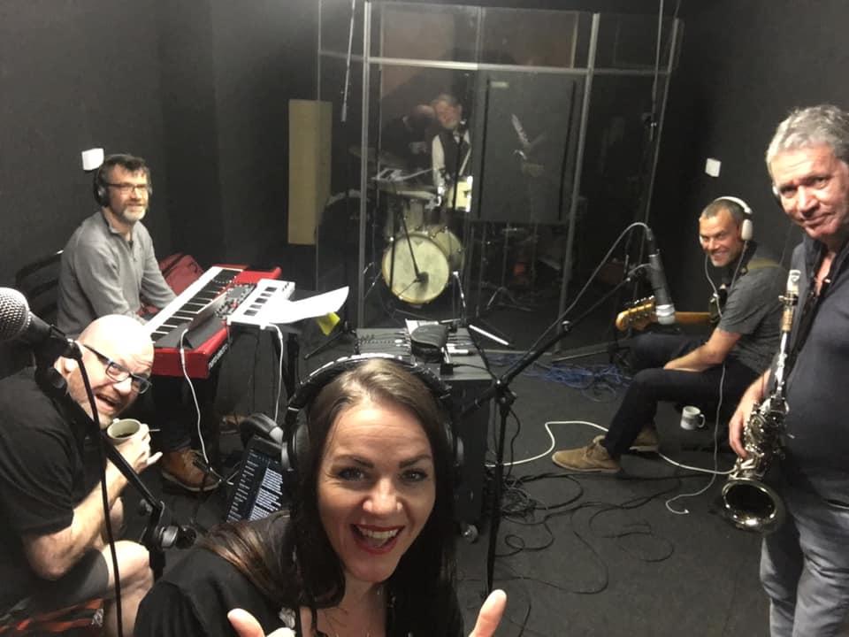 Sophia Stutchbury Start Something Album Recording Session - Seaview Music Studio Folkestone